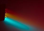تصاویری خلاقانه از چراغ های قرمز آلمان زیر مه غلیظ