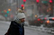تصاویر | بارش برف در آمریکا