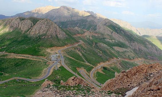 فیلم: طبیعت هورامان جاده روانسر به پاوه