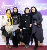 تصاویر : حضور بازیگران زن در افتتاحیه جشنواره فجر 36