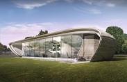 تصاویر:طراحی نمای ساختمان با بهره گیری از بعد سوم