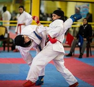 قهرمانی کاراتهکاهای مازندرانی در مسابقات جوانان کشور