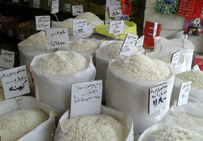 قیمت انواع برنج ایرانی در بازار+جدول