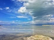تصاویر | زیبایی زندگی دوباره دریاچه ارومیه
