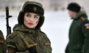 تمرین های دشوار نظامیان زن ارتش بزرگ روسیه