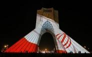 تصاویر تماشایی از نورپردازی ویژه برج آزادی
