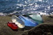 ساحل سنگهای شیشهای در روسیه