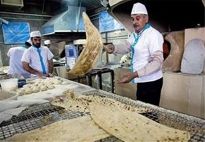 رئیس اتاق اصناف: ستاد تنظیم بازار با افزایش 15 درصدی قیمت نان موافقت کرد