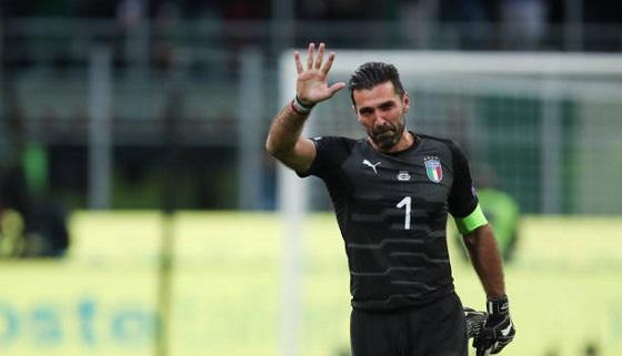 تصاویر: اشکهای بوفون افسانهای پس از حذف ایتالیا از صعود به جام جهانی