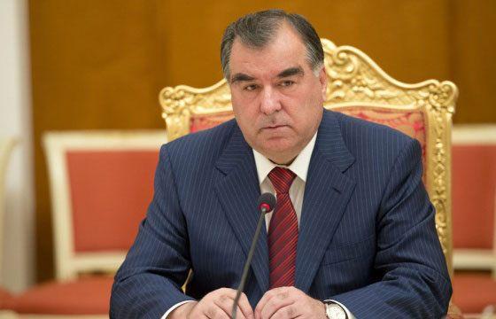 پیام تسلیت رئیسجمهوری تاجیکستان به روحانی