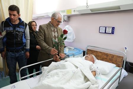 21 نفر از مصدومان زلزله غرب کشور به بیمارستان میلاد انتقال یافتند