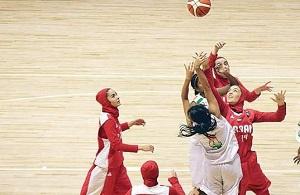 حضور در مسابقات بسکتبال آسیا یک پیروزی برای بانوان ایران است