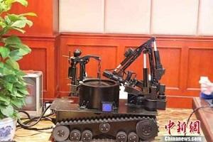 527595 898 - ساخت ربات خنثیکننده بمب در چین