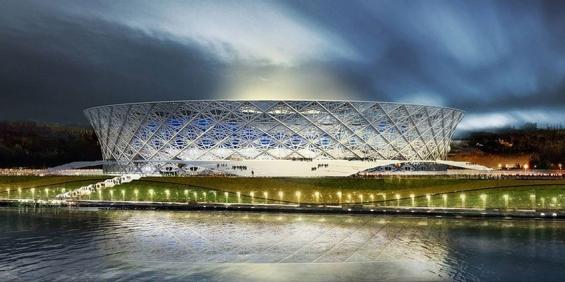 ورزشگاه سوچی در روسیه - میزبان جام جهانی 2018