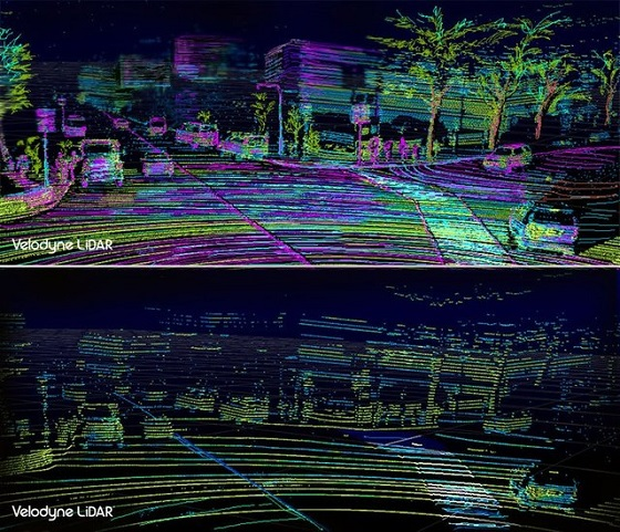 انقلاب در میدان دید 3بعدی خودروهای خودران