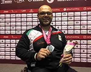 نایبقهرمانی صلحیپور در رقابتهای پاراوزنه برداری قهرمانی جهان