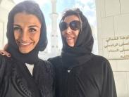 همسران بازیکنان رئال مادرید، با حجاب در امارات + تصاویر