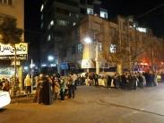 تصاویری از حضور مردم تهران و حومه پس از وقوع زلزله