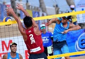 تیم والیبال ساحلی ایران در تور آسیایی سوم شد