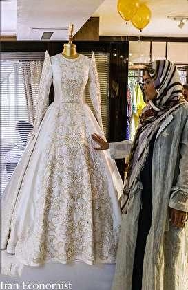 رقابت اروپایی ها برای پوشیدن لباس عروس ایرانی