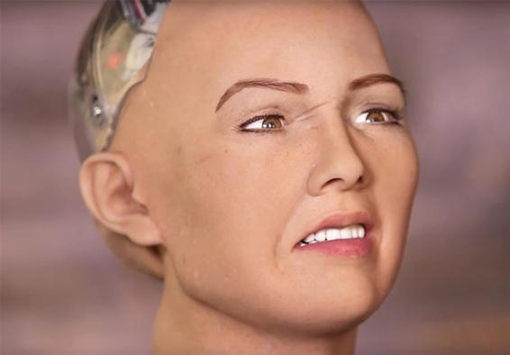 سوفیا ربات انساننمای پیشرفته