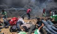 تک عکس : درگیری فلسطینی ها با نظامیان اسرائیلی