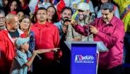 تک عکس : پیروزی مادورو در انتخابات ونزوئلا