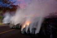 تصاویر؛خسارات گدازه های آتشفشان کیلوا در هاوایی