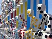 عکس: مانکن های خلاقانه در نمایشگاه فلورانس ایتالیا