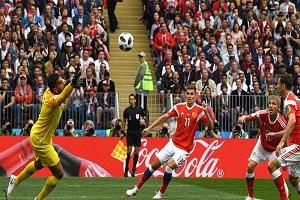 روسیه 5- عربستان صفر/ تحقیر عربستان در افتتاحیه جام جهانی