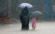 تک عکس : بارش شدید باران در سریلانکا