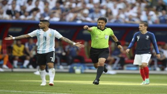عملکرد قابل قبول تیم فغانی در بازی فرانسه - آرژانتین