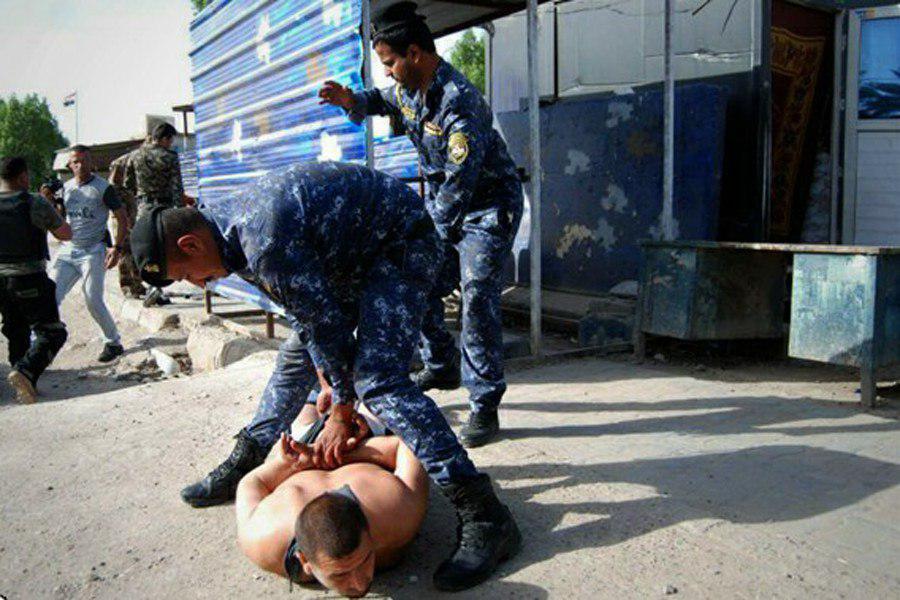 بازداشت گسترده اغتشاشگران در تظاهرات جنوب عراق