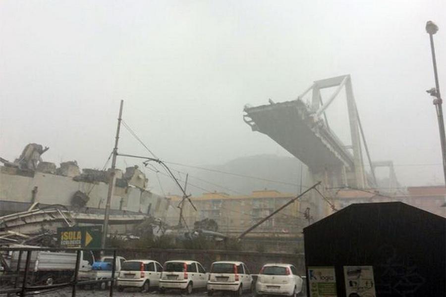شمار قربانیان پل فروریخته در ایتالیا به 20 نفر رسید