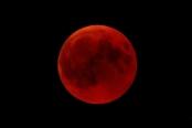 ماه خونین در آسمان، جهان را شگفتزده کرد+ تصاویر