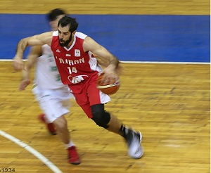 پیروزی ارزشمند بسکتبال ایران در انتخابی جام جهانی