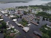 تصاویر: سیلاب پس از توفان فلورانس