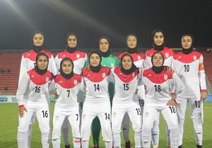 فوتبال قهرمانی زیر 16 سال دختران آسیا؛ تیم ایران با گلباران تاجیکستان، به مرحله نهایی صعود کرد