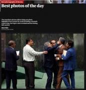 عکس:درگیری در مجلس، عکس منتخب گاردین