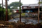 مردم هاوایی در میان طوفان سهمگین لِین