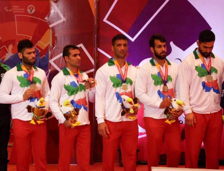 بازیهای پاراآسیایی 2018؛ مدال نقره جودوی تیمی به ایران رسید