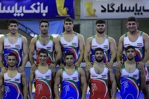 تیم کشتی آزاد جوانان ایران در پیکارهای جهانی سوم شد