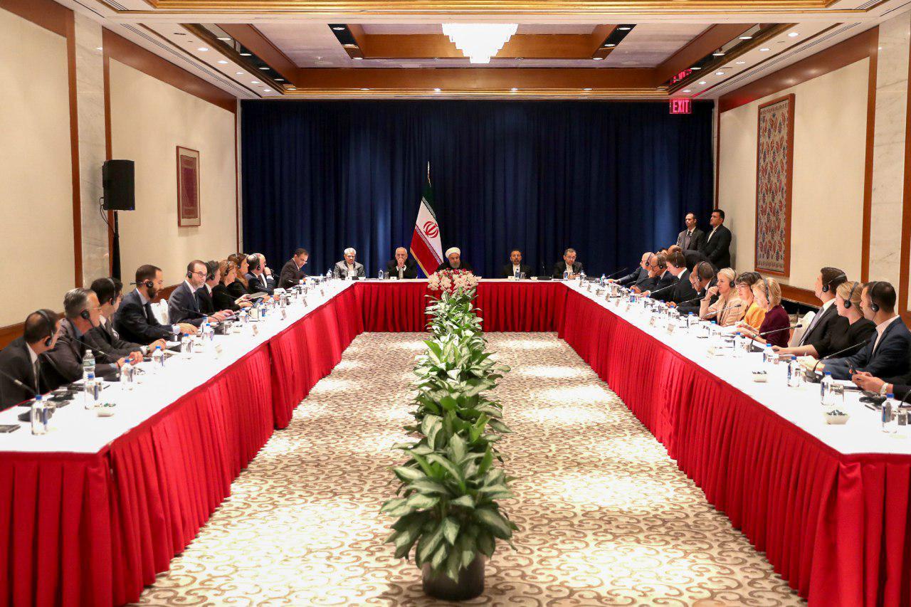 روحانی: امیدی به تغییر رفتار ترامپ نداریم