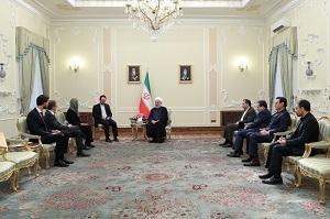 روحانی: ایران آماده تقویت همکاریهای اقتصادی و سیاسی با اروپا است