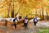 تصاویر: مسابقات قایقرانی آبهای خروشان جوانان آسیا