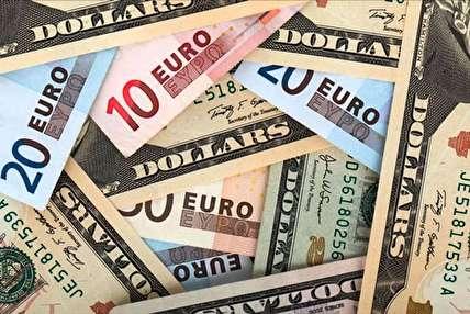 کاهش نرخ ۹ ارز بین بانکی + جدول