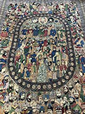 تصاویری زیبا از فرش مشاهیر در کاخ نیاوران