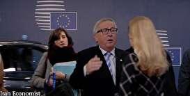 (ویدیو) حرکت عجیب رئیس کمیسیون اروپا با یکی از کارمندان زن