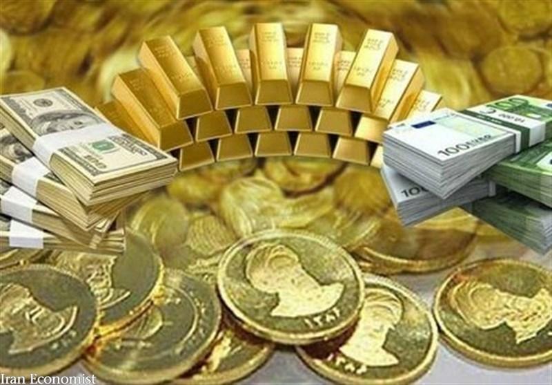 قیمت طلا و سکه ، قیمت دلارو سایر ارز امروز ۹۸/۱۰/۳۰