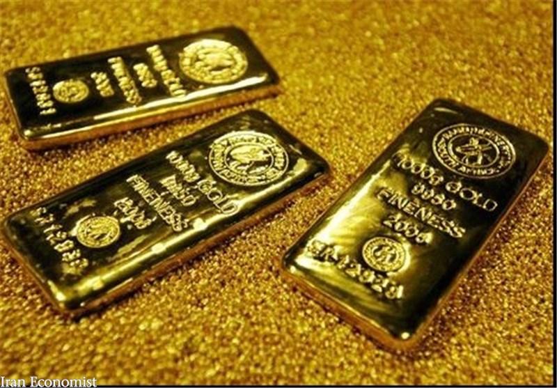 قیمت هر اونس طلا به ۱۵۸۶ دلار و ۱۵ سنت رسید